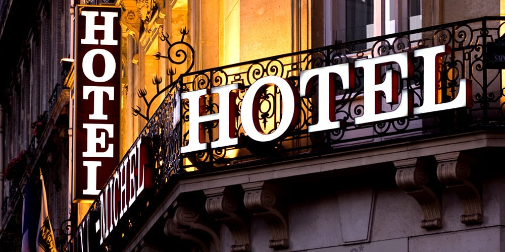 Creativity booms up as the hotel industry goes down