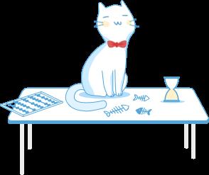 Тут лише котик :)